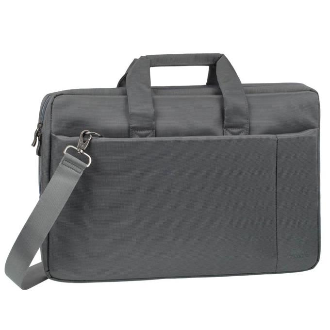 """Чанта за лаптоп Rivacase 8251 до 17.3"""" (35.56 cm), полиестер, сива image"""
