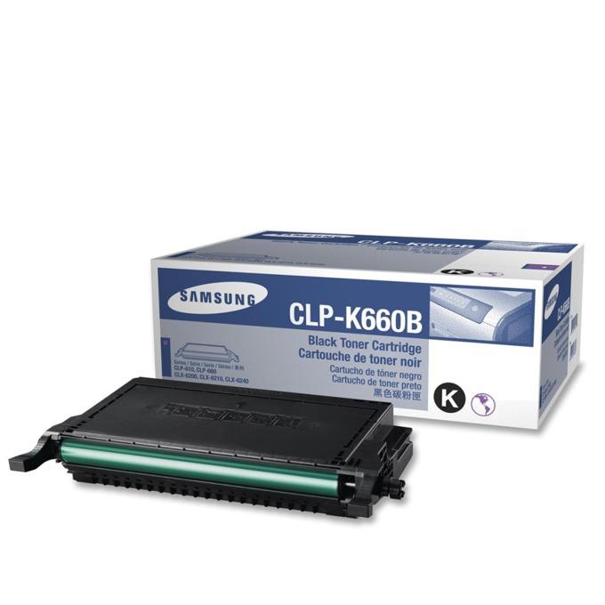 КАСЕТА ЗА SAMSUNG CLP610/CLP660/CLX6200/CLX6210/CLX6240 - Black - P№ CLP-K660B - заб.: 5500k image