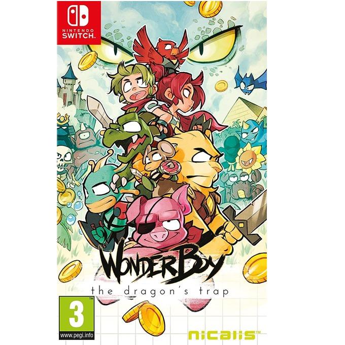 Игра за конзола Wonder Boy: The Dragons Trap, за Switch image