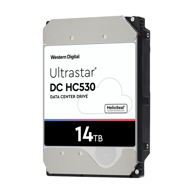 "14TB Western Digital 14TB Ultrastar DC HC530, SATA 6Gb/s, 7200 rpm, 256MB кеш, 3.5"" (8.89cm) image"