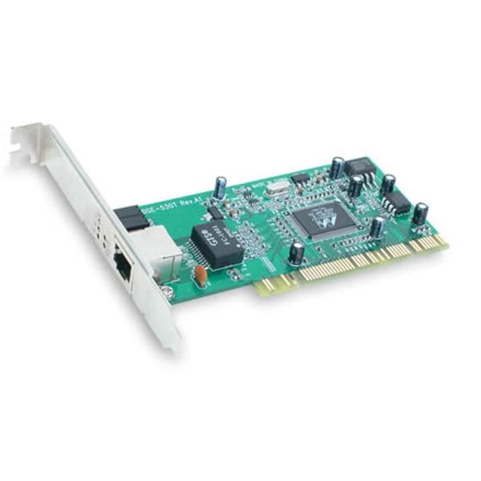 D-Link DGE-528T, 1000Mbps, PCI 32bit image