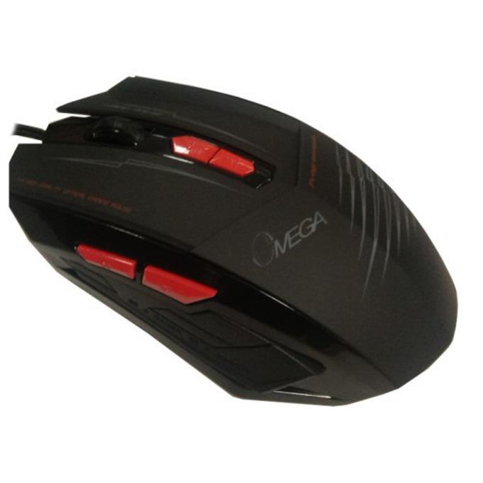 Мишка Omega 7D 292 GAMING, оптична, 2500 DPI, USB, черна image