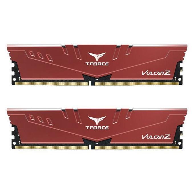 Памет 64GB (2x32GB) DDRR4 3000MHz, Team Group T-Force Vulcan Z Red TLZRD464G3000HC16CDC01, 1.35V image