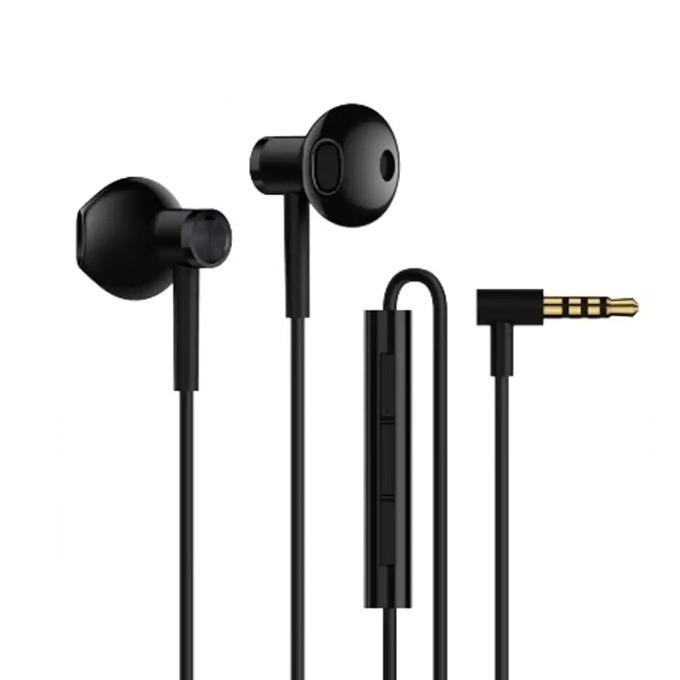 Слушалки Xiaomi Mi Dual Driver Earphones, микрофон, черни image