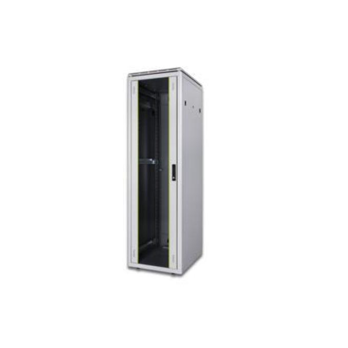 "Комуникационен шкаф Digitus DN-19 32U-6/6-EC, 19"", 32U, 1565x600x600 мм, до 600кг товароносимост, IP20 защита image"