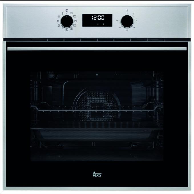 Фурна за вграждане Teka Wish HSB 635 P, клас А+, 70 л. обем, вентилатор, 8 функции + DualClean, LED дисплей, черна image