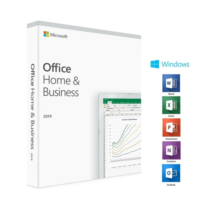 Microsoft Office Home and Business 2019 Medialess