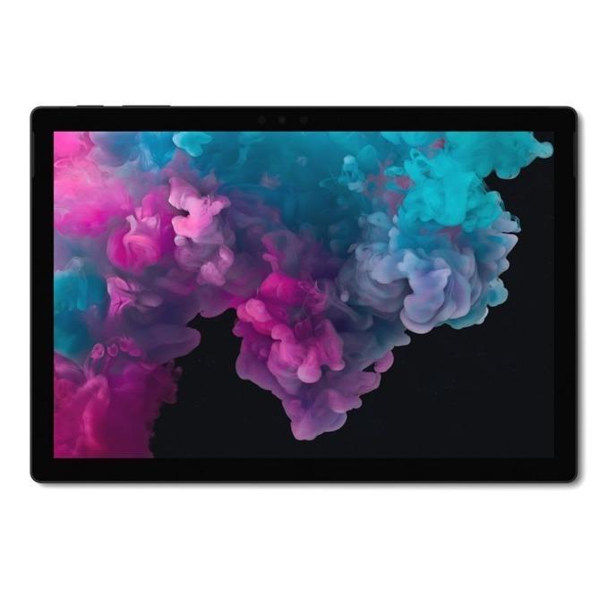 """Таблет Microsoft Surface Pro 6 (KJV-00024)(черен), 12.3"""" (31.24 cm) PixelSense дисплей, четириядрен Intel Core i7-8650U 1.9/4.2 GHz, 16GB RAM, 512GB SSD (+ microSD слот), 8.0 & 5.0 Mpix камера, Windows 10 Home, 780g image"""