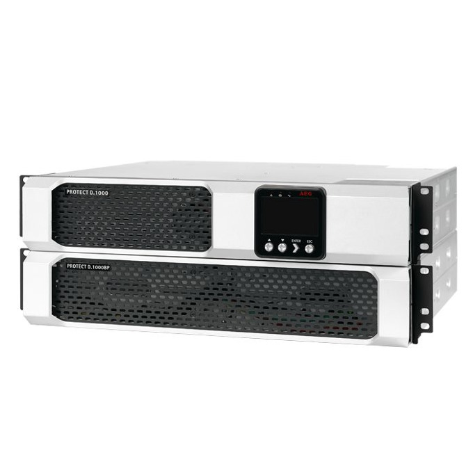 UPS AEG Protect D UPS, 1000VA/900W, Online Rackmount  image