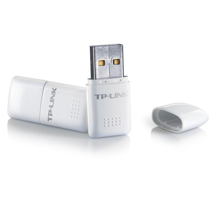 Мрежови адаптер TP-Link TL-WN723N, 150Mbps, Wireless-N/G/B, USB Adapter, ултра-компактен image