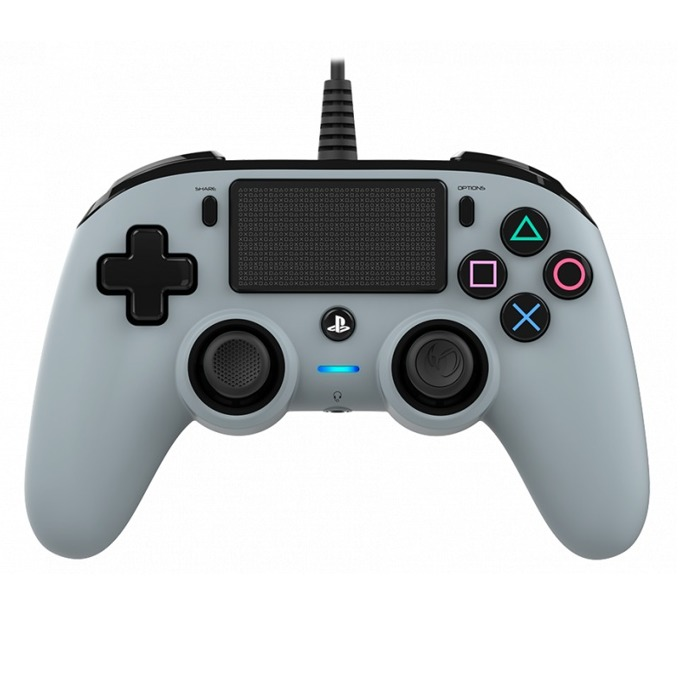 Nacon Wired Compact Controller, Сребърен product