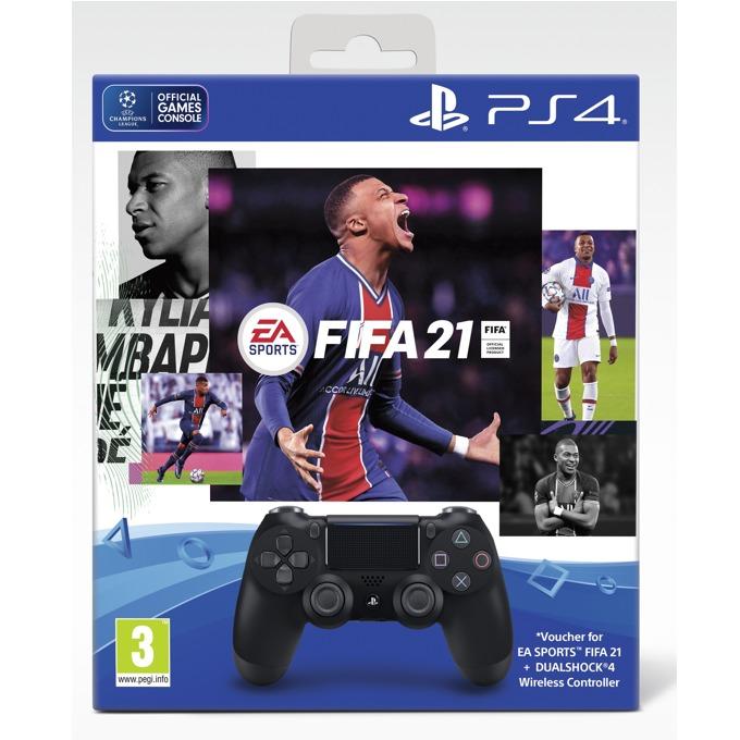 DualShock 4 V2 Black + FIFA 21 PS4 product