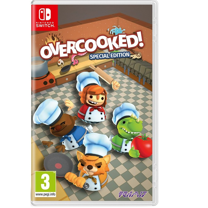 Overcooked Special Edition, за Switch image