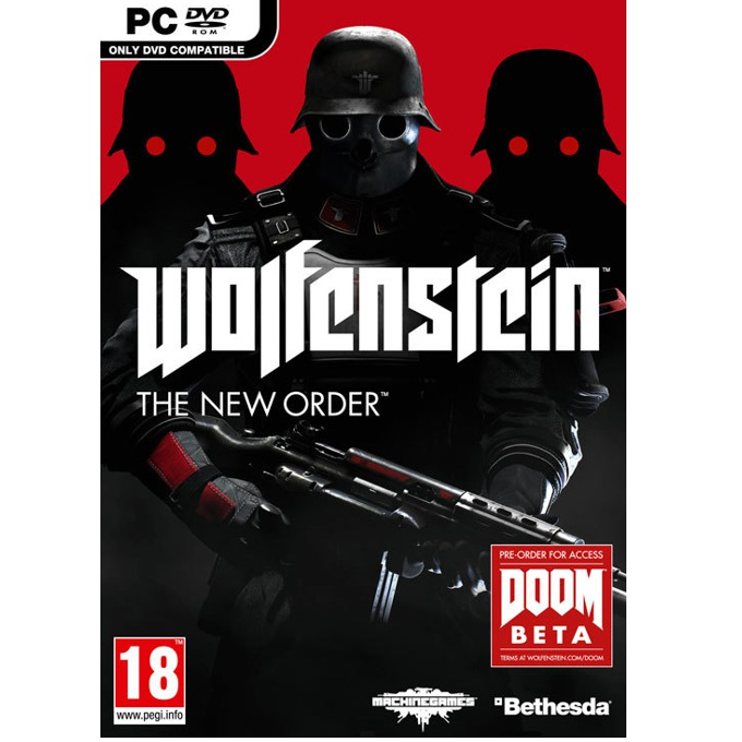 Wolfenstein: The New Order + DOOM Beta, за PC image