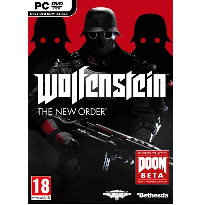 Игра Wolfenstein: The New Order + DOOM Beta, за PC image