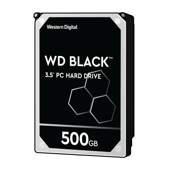500GB WD Caviar® Black™ SATA 6Gb/s 7200rpm 64MB