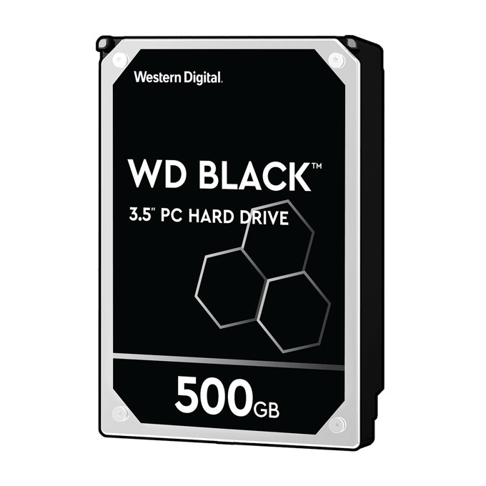 "500GB WD Caviar® Black™, SATA 6Gb/s, 7200rpm, 64MB, 3.5""(8.89 cm) image"
