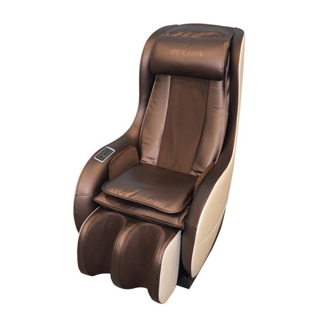 Масажен стол Rexton RK-1900A, приспособими механични масажни глави с нагряване, подгряващ ролков механизъм, Bluetooth стерео говорители image