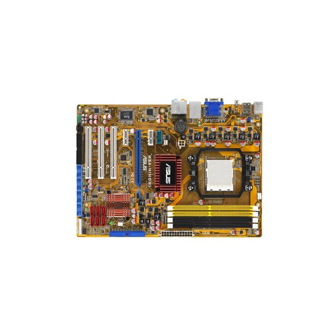 Дънна платка Asus M3A-H/HDMI, AMD 780G, AM2+, DDR1066, VGA+PCI-E, HDMI, SB7.1, Lan1000, SATA RAID, ATX, 3г. Гаранция
