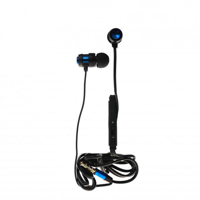 Слушалки Tellur In-Ear, Trendy series, микрофон, Stereo, сини image