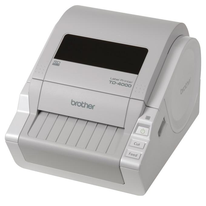 Професионален етикетен принтер Brother TD4000, 2 г. image