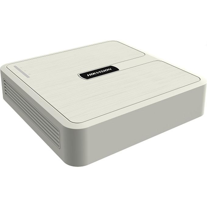 Хибриден видеорекордер HikVision HWD-5104, 4 канала, H.264+/H.264, SATA, 2x USB, 1x RJ-45, 1x RCA, 1x HDMI, 1x VGA image