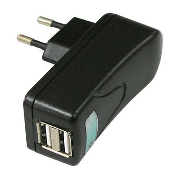 Зарядно устойство Ronline 2x USB A(ж), черно image