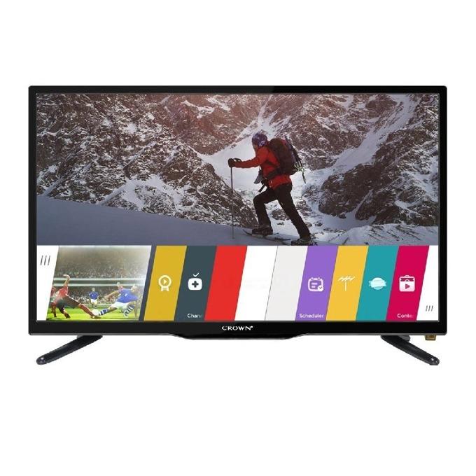 "Телевизор Crown 3233T2, 32"" (81.28 cm)1366 x 768 LED TV, HD Ready, DVB-T/T2/C/MPEG4, 3x HDMI, VGA, USB image"