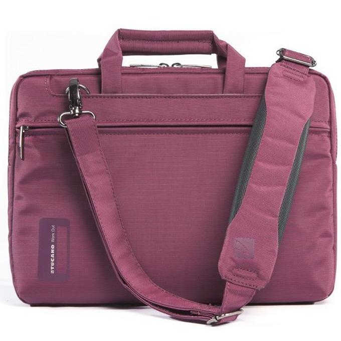 """Чанта за MacBook Pro TUCANO WO-MB154-PP, Workout, 15.4""""(39.12cm), лилава image"""