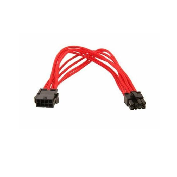 Захранващ кабел Gelid Solutions CA-8P-04, EPS 8pin(м)към 8pin(ж), 0.3m, червен image