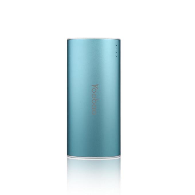Външна батерия /power bank/ Yoobao 5200 mAh, син, с LED фенер image