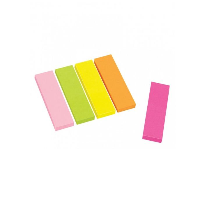 Индекс Centrum, за отбелязване в книги, документи и др., 125бр., размер 45х12mm, различни цветове image