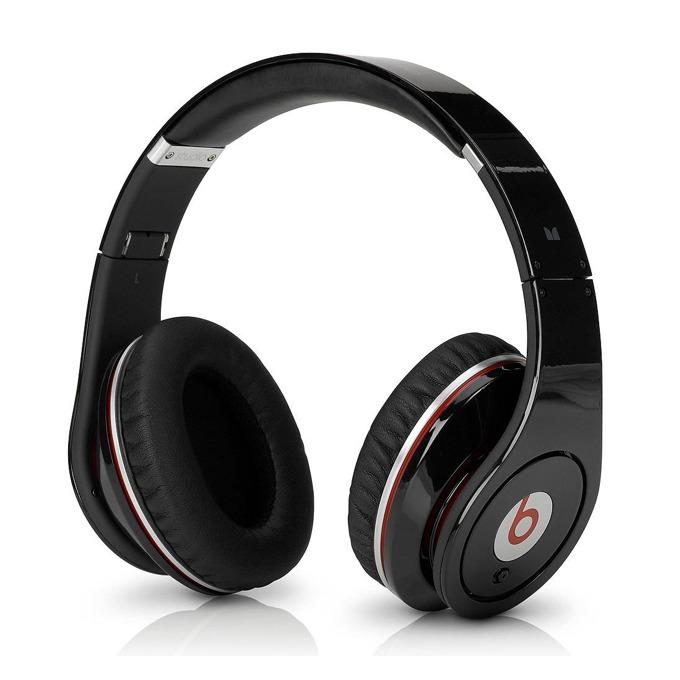 Слушалки Beats by Dre Studio Over Ear, черни, професионални, 3.5мм jack, микрофон, сгъваеми, оптимизирани за iPhone/iPod/iPad  image