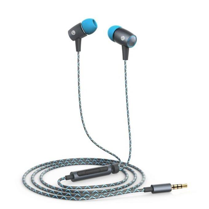 """Слушалки Huawei Engine AM12_Plus, микрофон, управление звука, тип """"тапи"""", сиви image"""