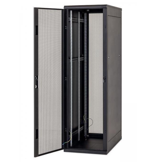"Комуникационен шкаф Triton RMA-42-L61-BAX, 19"", 42U, 1000mm, свободно стоящ, перфорирана врата 80% image"