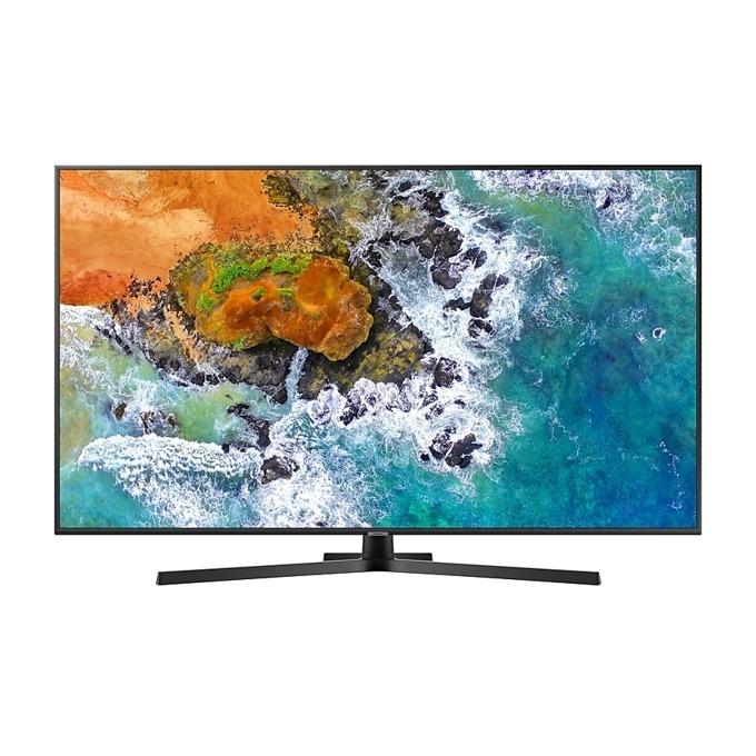 "Телевизор Samsung 50NU7402 50"" (127 cm) 4K UHD LED Smart TV, DVB-T2CS2, Wi-Fi, LAN, 3x HDMI, 2x USB, черен image"