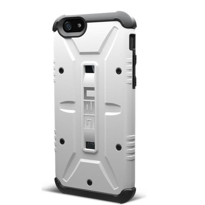 Поликарбонатов протектор Urban Armor Scout за iPhone 6+ (бял), удароустойчив image