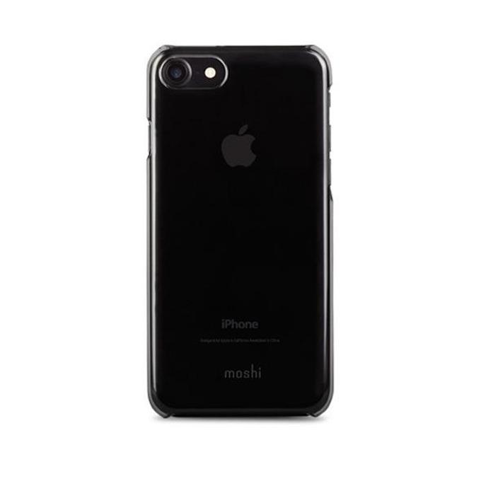 Калъф за iPhone 7, поликарбонатов, Moshi XT Case, черен-прозрачен image