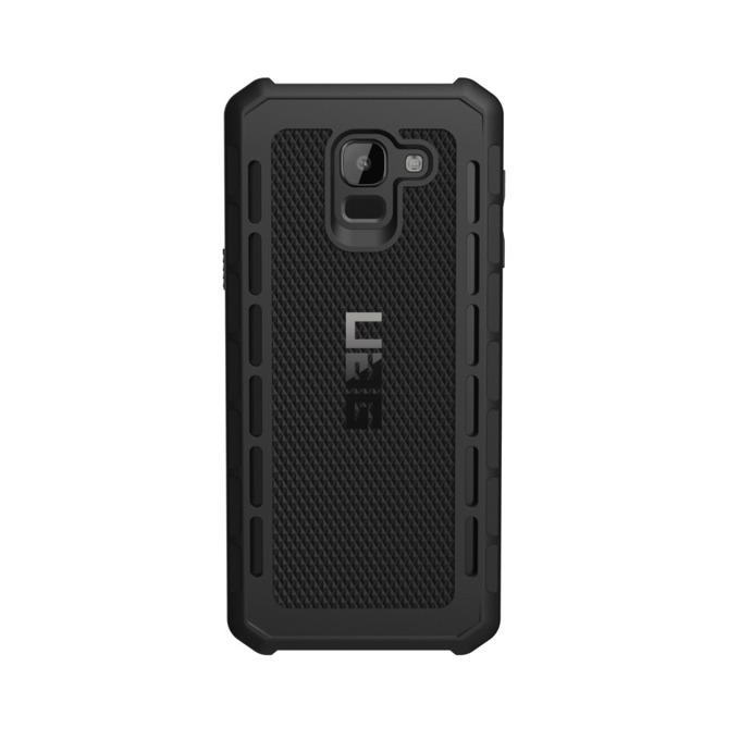Калъф за Samsung Galaxy J6 (2018), удароустойчив, TPU и поликарбонат, Urban Armor Gear Outback, хибриден, черен image