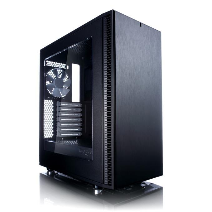 Кутия Fractal Design Define C, ATX/Micro ATX/ITX, 2x USB 3.0, прозорец, черна, без захранване image