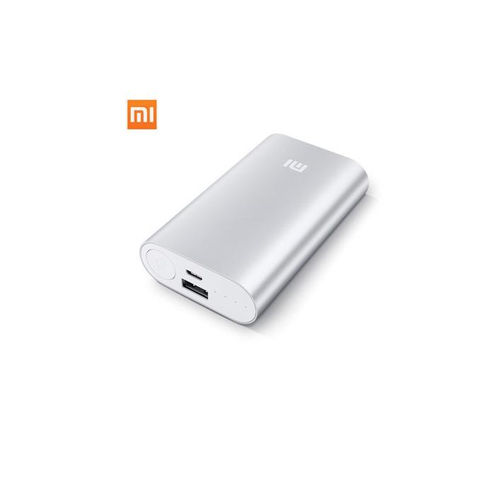 Външна батерия/power bank/ Xiaomi Power Bank VXN4097CN, 10 000 mAh, On/Off бутон, USB micro Type B, сребриста image