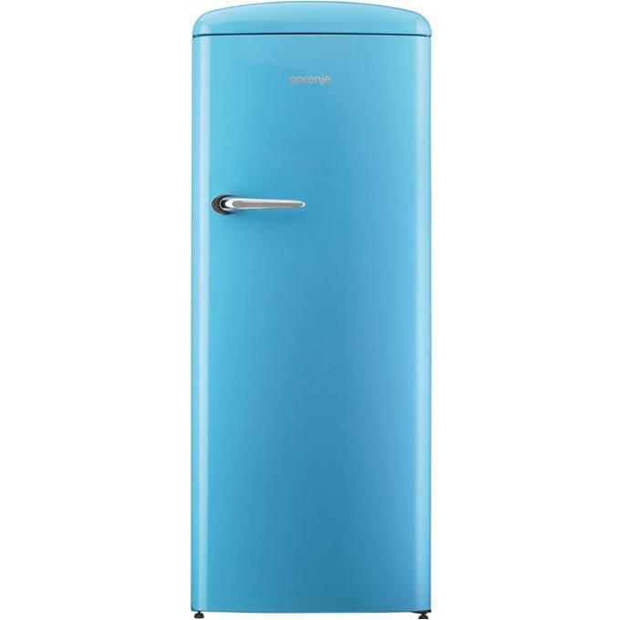 Хладилник с камера Gorenje ORB 152 BL, клас A++, 254 л. общ обем, свободностоящ, 186 kWh/годишно, CrispZone, FreshZone, син image