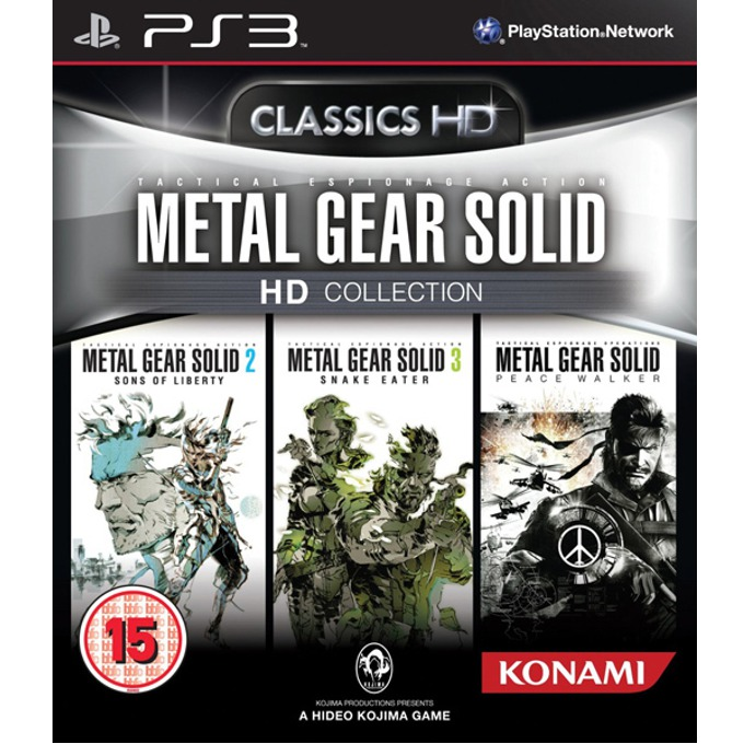 Metal Gear Solid: HD Collection, за PlayStation 3 image