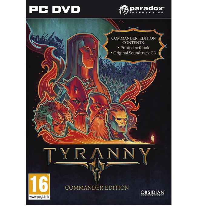 Игра Tyranny: Commander Edition, за PC image