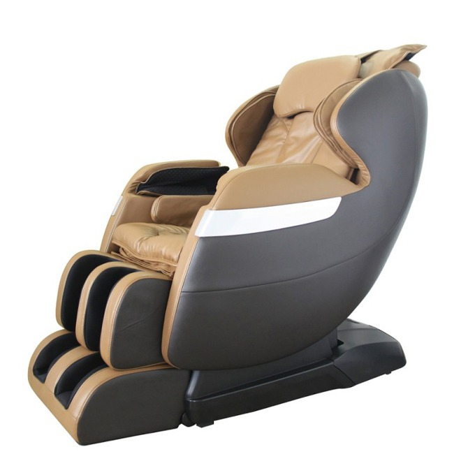 Масажен стол Rexton GJ-5102ZCap, комплексен масаж, крачна секция, колела, LCD екран, дистанционно управление, бежов image