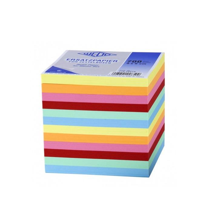 Листчета Wedo, 700бр., размер 55х90mm, различни цветове image