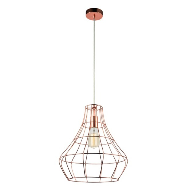 Viokef TWEED Pendant copper 4152500