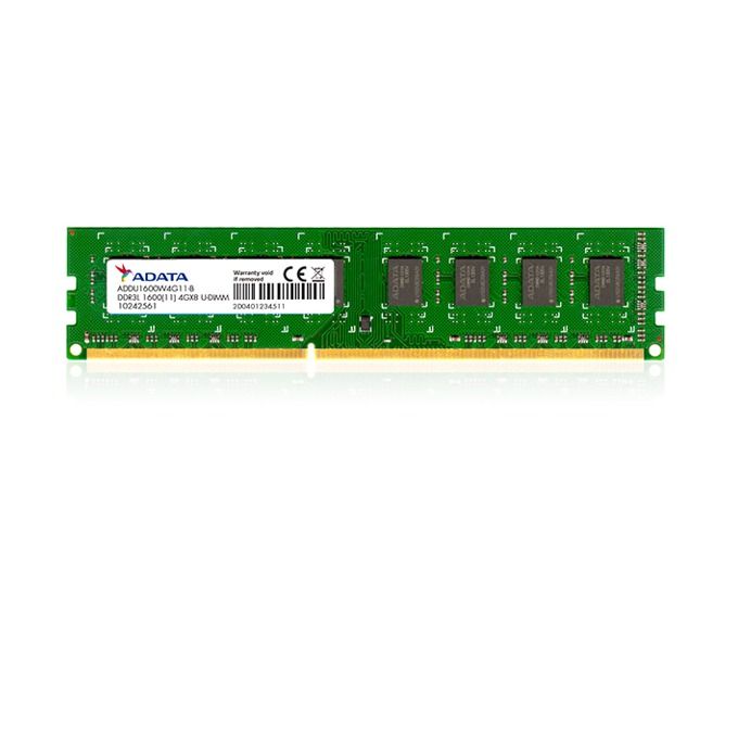 Памет 4GB DDR3L 1600MHz A-Data Premier, 1.35V image