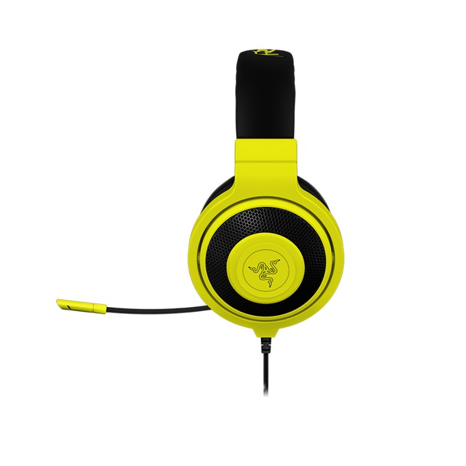 Слушалки Razer Kraken Pro Neon, микрофон, гейминг, бързи бутони, жълти image