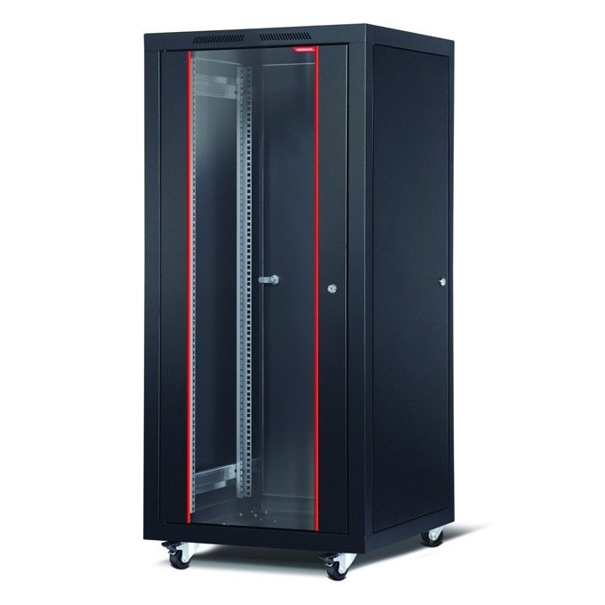 "Комуникационен шкаф Formrack CSM-26U6060, 19"", 26U, 600 x 600 mm, черен image"